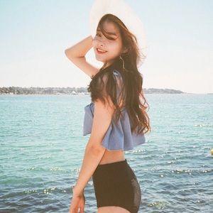 Other - Korean Ruffle Bikini Set 👙